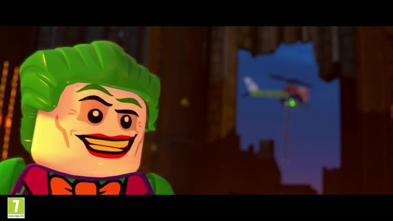 LEGO DC Super Villains Релизный трейлер