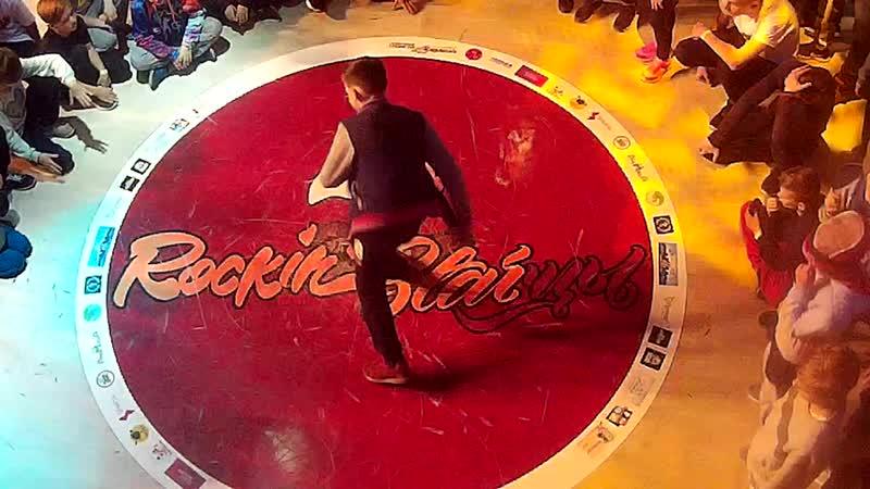 B-boy Плотный отбор на ROCKIN' STAR'цы hip-hop festival