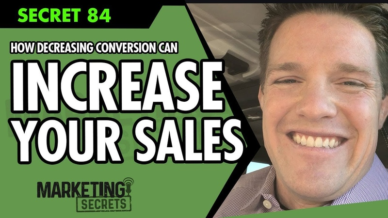 How Decreasing Conversion Can Increase Sales - Project Mother Funnel