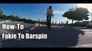 КАК СДЕЛАТЬ ФЕЙКИ на БАРСПИН на ПОДКАТЕ How to Fakie to Barspin Обучение Фейки на Барспин BMX MTB
