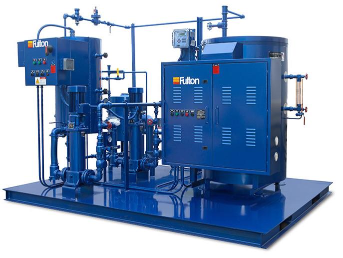 Электрический паровой котел модели FB-W - Fulton Boiler Works, Inc.