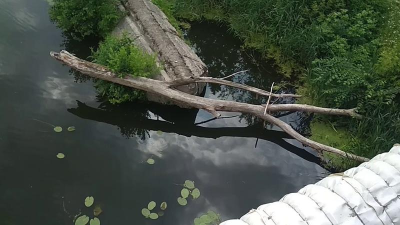 Сумы аварийные перила моста на Харьковской