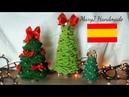 Arbol de navidad a crochet MARYJ HANDMADE