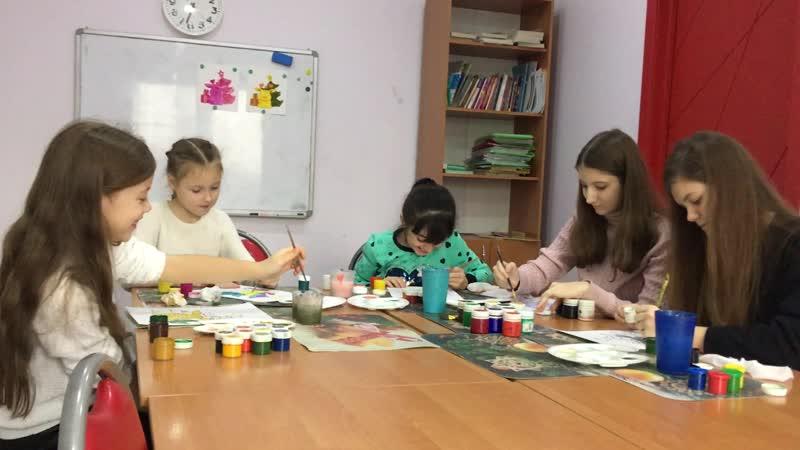 Анонс НОВОГО видео: 3 краски челлендж в ШКОЛЕ!