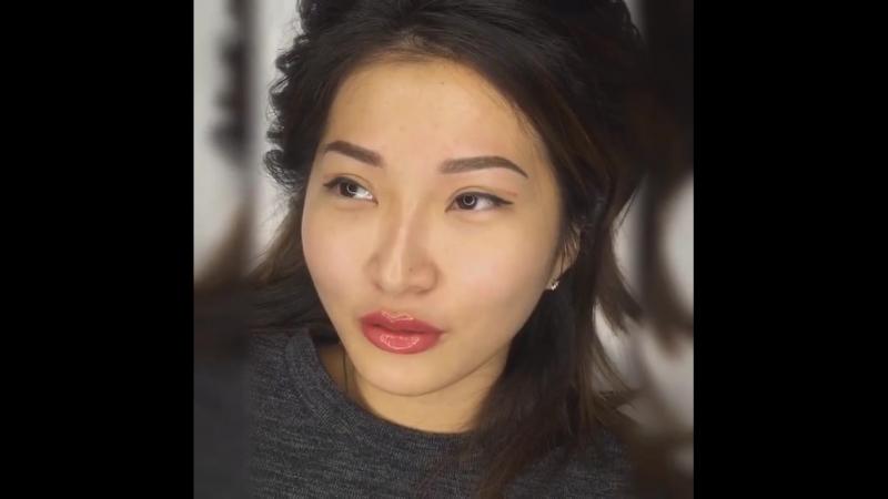 Перманентный макияж бровей и губ сразу после процедуры 🦋Ведущий мастер Татьяна М