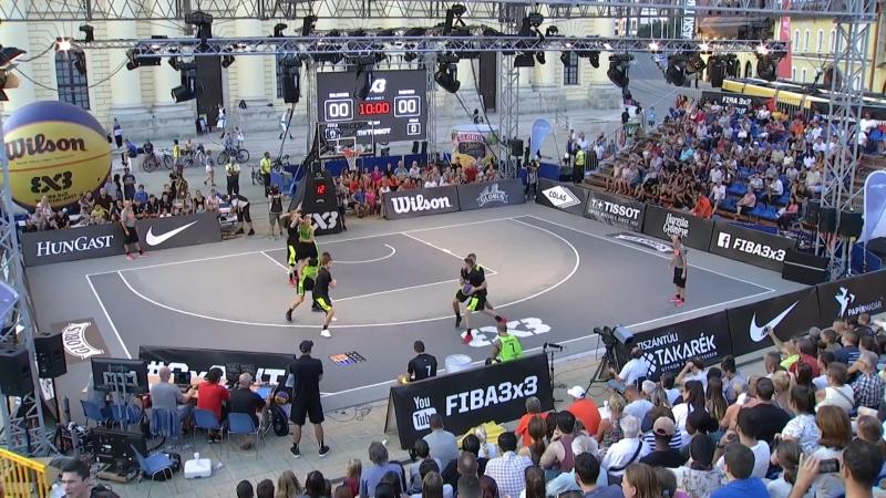FIBA 3x3 World Tour 2018 Debrecen Belgrade VS Gagarin 30 08 2018