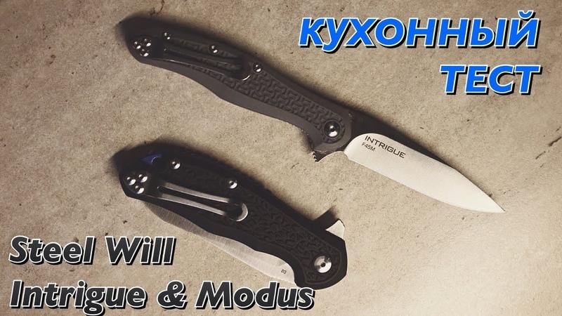 Кухонный тест | Steel Will Intrigue Modus