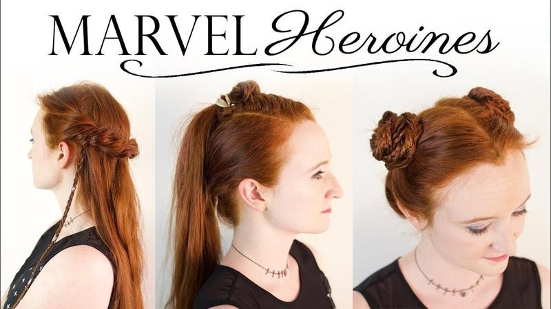 Heroines of Marvel Hair Tutorial - Gamora, Valkyrie, Shuri