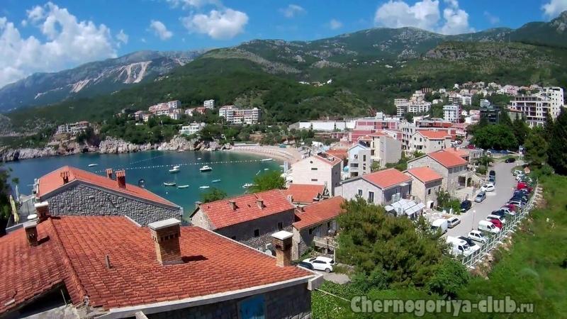 Апартаменты в Пржно в 70 м от моря (Милочер, Святой Стефан)- отдых в Пржно, отдых виллы в Черногории
