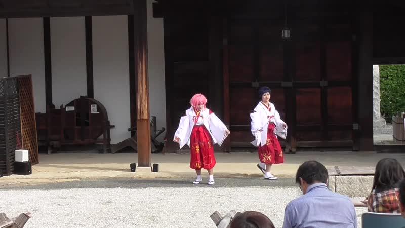 【あんスタ】姫宮主従で宵々古今踊ってみた【コスプレパフォーマンス】【ラコロール】 sm34126893