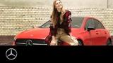 Die neue Mercedes-Benz A-Klasse. So wie Stefanie Giesinger