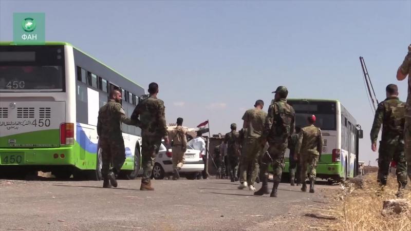 Сирия: вторая партия боевиков покинула провинцию Эль-Кунейтра