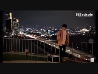 WHAT IF jin purposely hit jungkook with his car so that he wouldnt be able to go up and ju