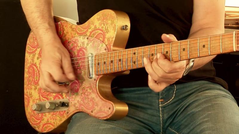 (my personal) 2017 Fender Masterbuilt 68 RelicTelecaster Paisley, Custom Shop Dale Wilson, Part3