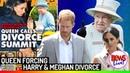 The Queen Is F O R C I N G Prince Harry and Meghan Markle to get D I V O R C E