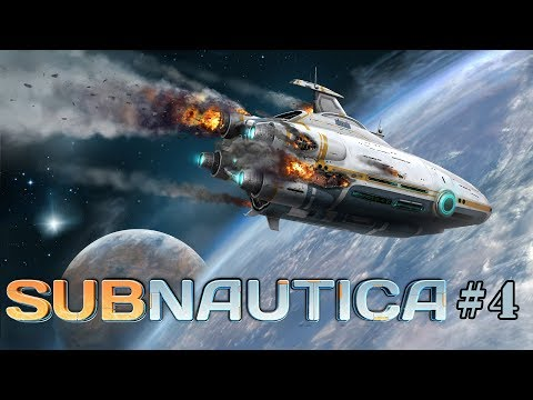 Subnautica - стрим на русском 4 (1440p 60Fps)
