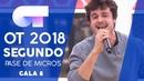 CAN WE DANCE MIKI SEGUNDO PASE DE MICROS GALA 8 OT 2018