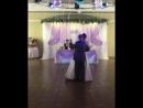 танец папы и дочки-невесты в банкетном залей Чайковский 07.08.18.720