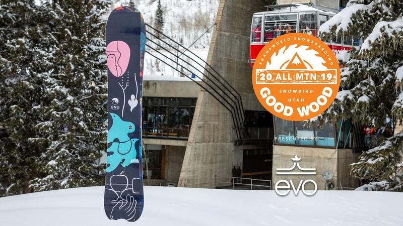 GNU Müllair Review Men's All-Mountain Winner – Good Wood Snowboard Test 2018-2019