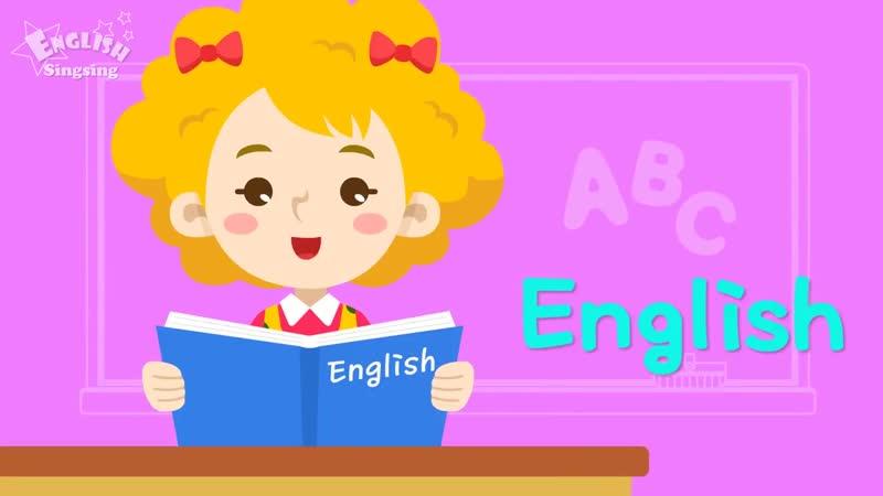 Kids vocabulary Theme School - School, School Subjects, School Supplies - Words