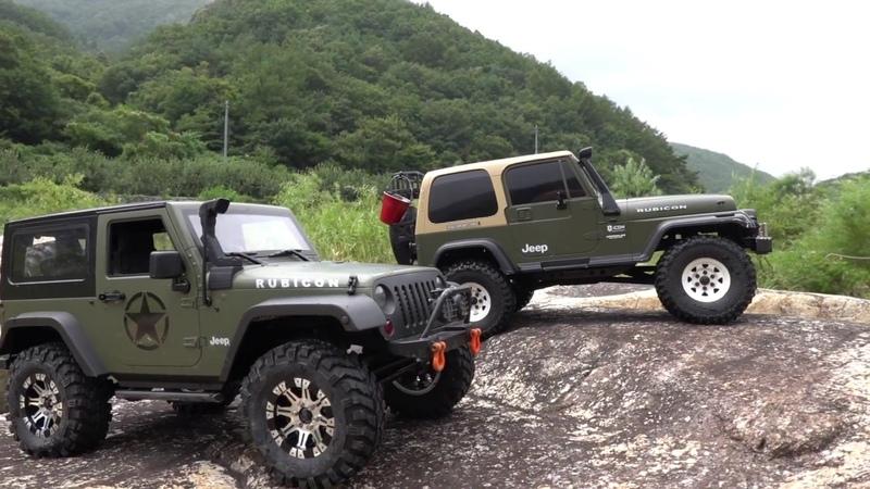 MST-CMX ll Jeep Wrangler YJ VS RCModelex Rubicon JK