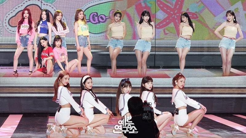 예능연구소 직캠 여자 아이들 우주소녀 레드벨벳 썸머 송 메들리 @쇼 음악중심 20180811 G I DLE WJSN Red Velvet Special stage in 4K