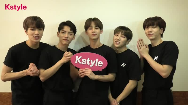 190205 Kstyle with HOTSHOT Congrats with 7 years
