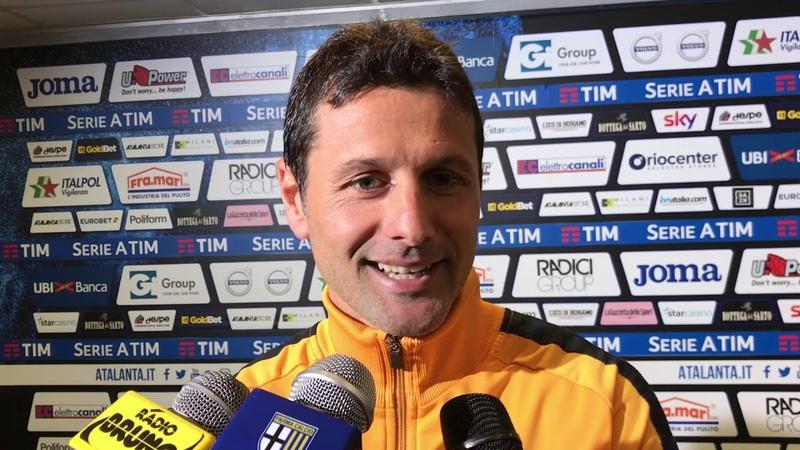 Massimo Gobbi dopo Atalanta-Parma