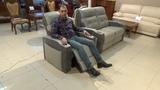 Кресло Джинато с реклайнером и подъемным подголовником в видео обзоре от Бенцони