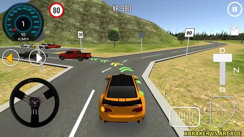 3D Driving Class Android gameplay