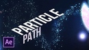 Create Particles Along a Path After Effects Tutorial No Plugins