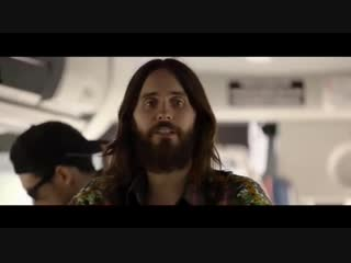 A clip of Jared surprising some fans on a #GreyhoundBus during release week for #America (April 2018)