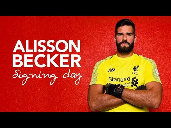 Alisson Beckers first day at LFC | Signing Day Vlog