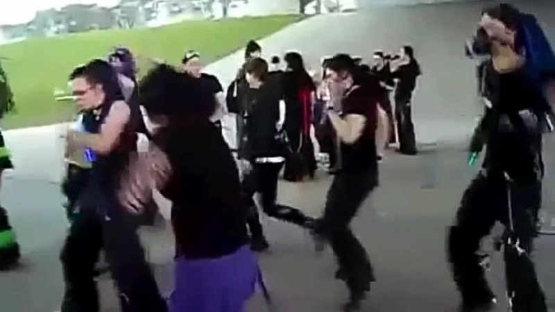 Cyber Goths Dancing To The Neverhood Theme