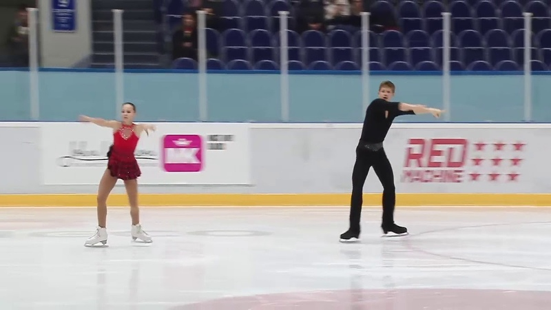 Лина ДРЕЙЕР Даниил ШВЕЦОВ КР 2018-4 КМС КП