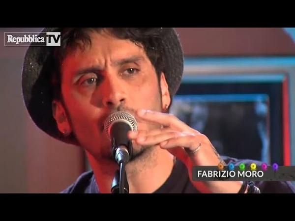 Fabrizio Moro Il suo medley Libero Pensa Sono Solo Parole