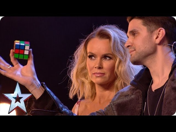 Magic man Maddox WOWS with Rubik's Cube wizardry Auditions BGT 2018