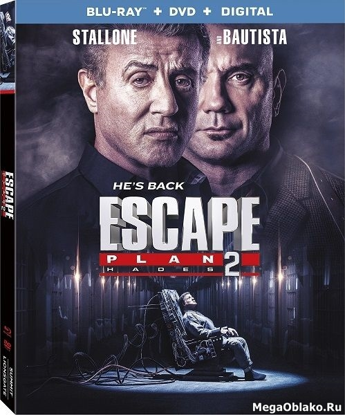 План побега 2 / Escape Plan 2: Hades (2018/BRRip/HDRip)