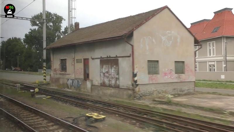 Jízda RegioPanterem po trati 031: Stéblová - Opatovice n.L. [100 - 160 km/h] - 11.7.2018