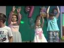 Танец Ксении на дне рождения 7 лет
