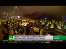 'Yellow Vest' protest grips Calais France gears up for more unrest - YouTube