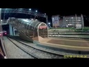 Прибытие на ст. Рузаевка из окна поезда с реальным звуком
