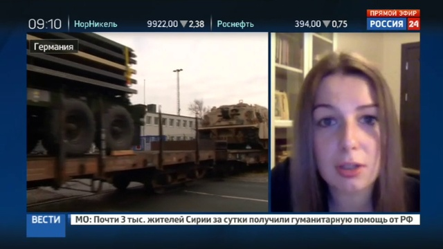 Новости на Россия 24 • Бронетехника и батальоны: мирная миссия НАТО в Прибалтике