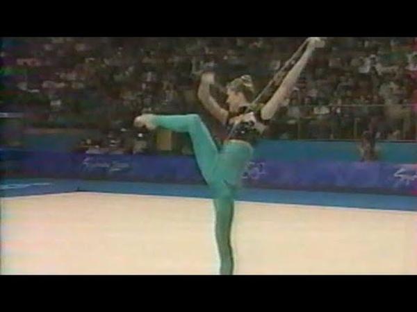 2000 Sydney - Eva Serrano à la corde (GRS)