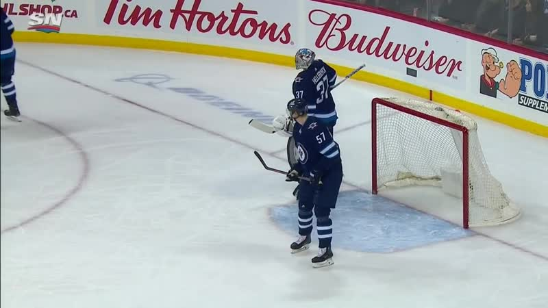 Alex Killorn Shows Soft Hands With A Sweet Backhand Finish On Connor Hellebuyck