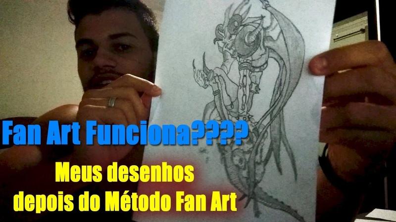 Meus desenhos depois do Metodo Fan Art , Mayara Rodrigues Fanart 2.0