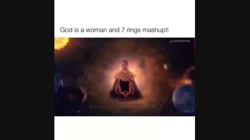 """Mashup god is a woman"""" × 7 rings"""" Паблик sweetened greed for ariana"""