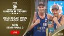 The Hague 4-Star 2019 - Men SF2 - Beach Volleyball World Tour