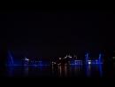 Вальс фонтанов на озере Абрау