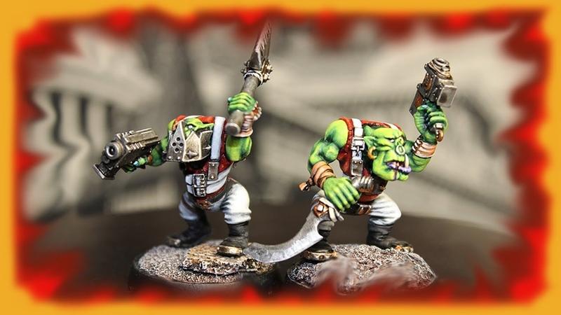 Еще два бойза в покрасе Warhammer 40000